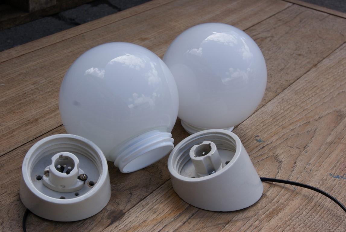 1960 s angled wall lights
