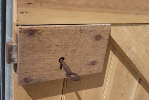 ... door; Solid pine ledge u0026 brace ... & Pine plank door